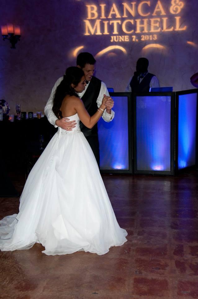 First Dance at Northeast Wedding Chapel