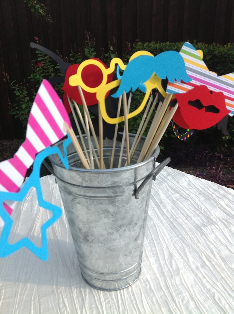 Props for DIY Photo Booth