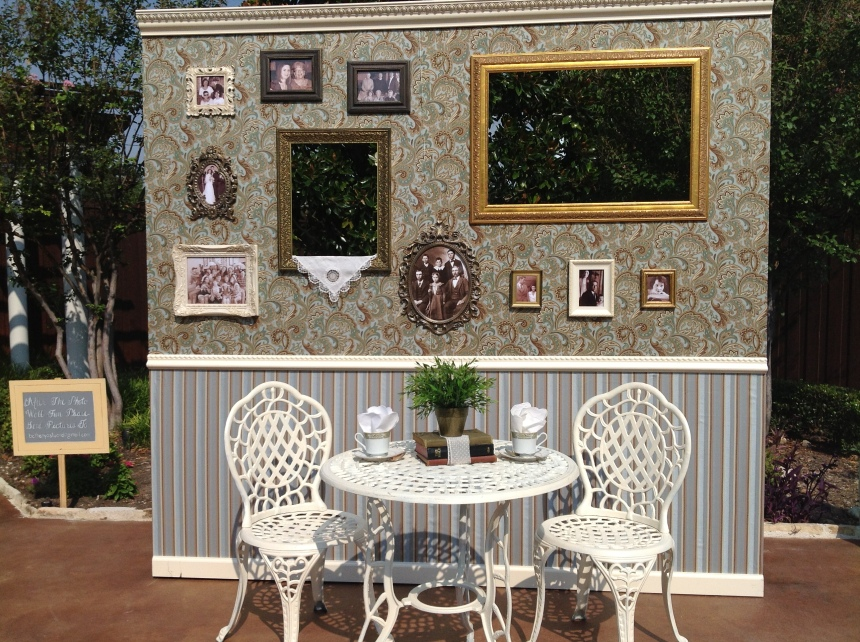 DIY Photo Booth at Northeast Wedding Chapel