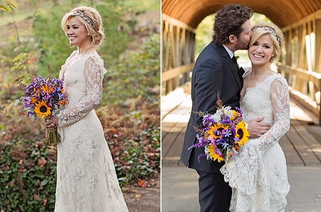 Kelly Clarkson 2013 Wedding A Moment Like T...