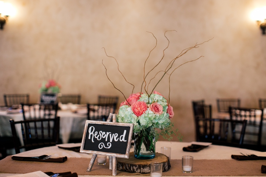 Centerpiece at Northeast Wedding Chapel