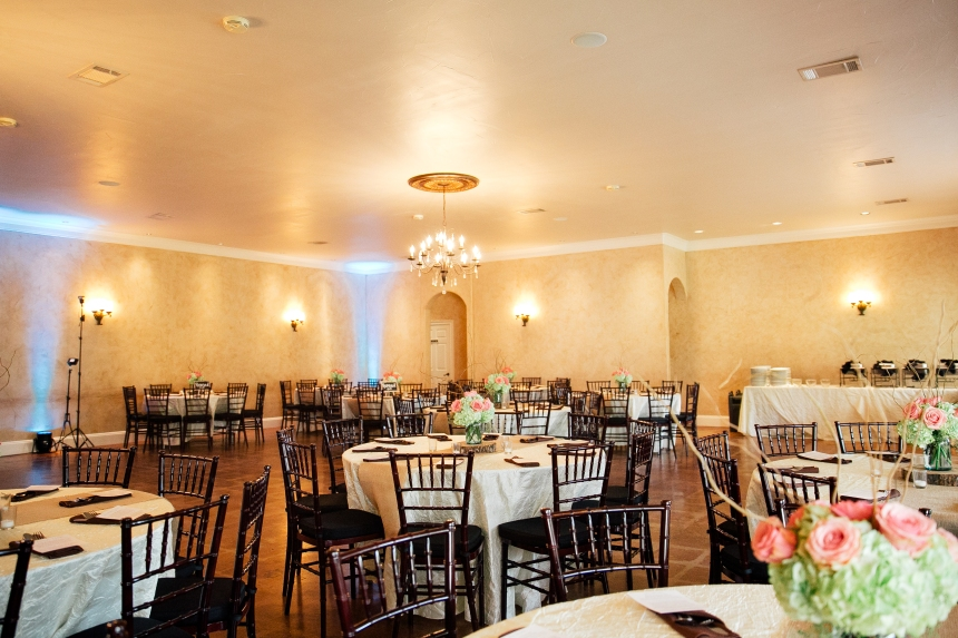 Reception Hall at Northeast Wedding Chapel