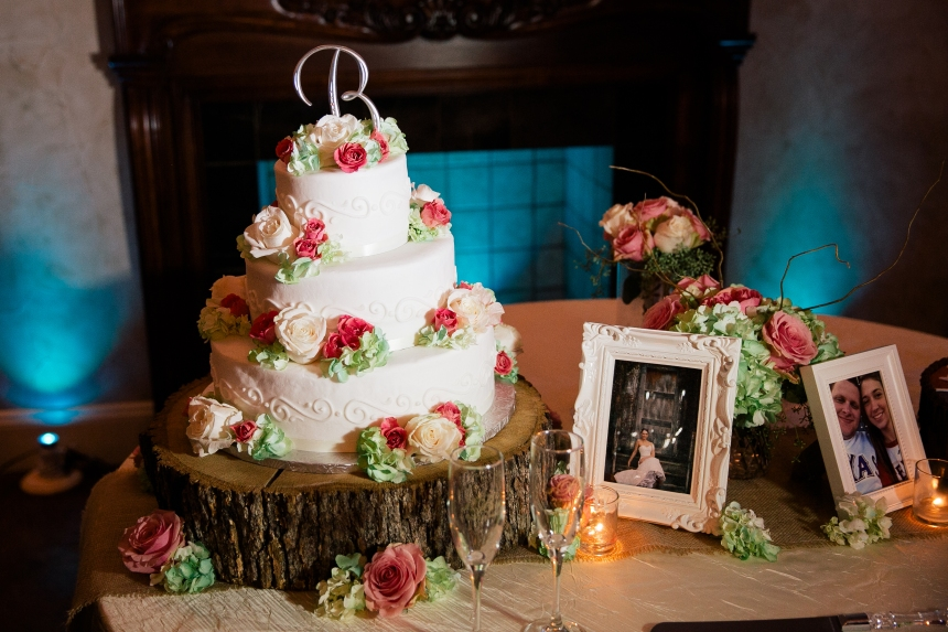 Cake Table at Northeast Wedding Chapel
