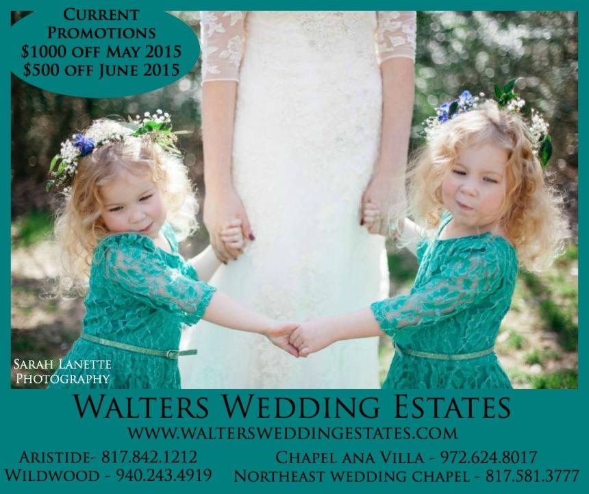WaltersWeddingEstatesPromotionsApril2015