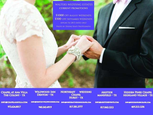 Walters Wedding Estates - Dallas Wedding Venues