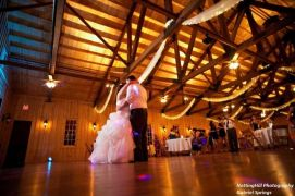 Randall & Rachel with stunning lights