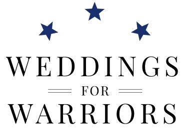 Weddings for Warriors Logo white bg
